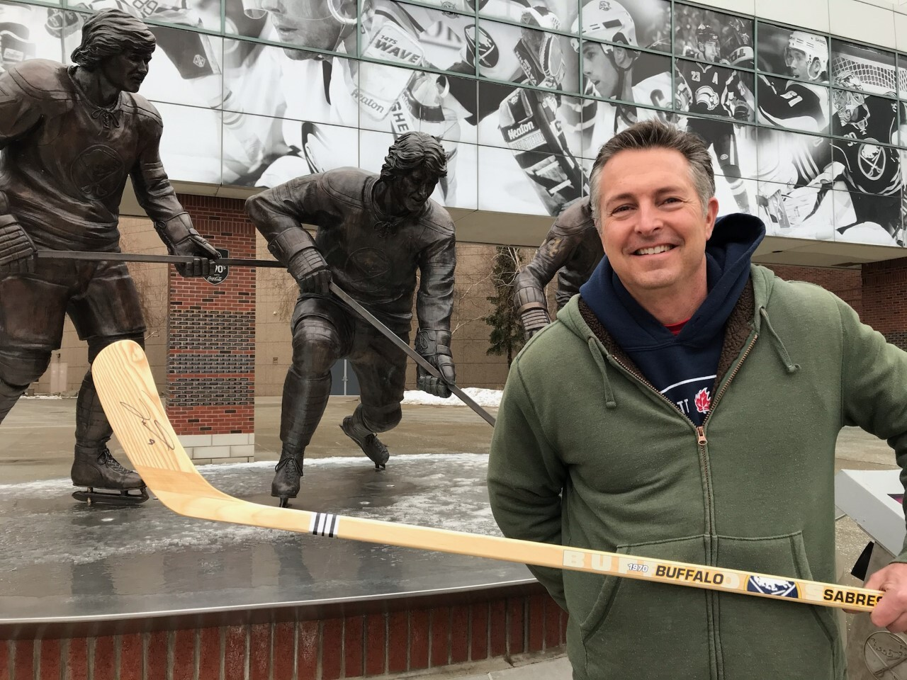 Signed Jack Eichel hockey stick up for grabs in benefit raffle