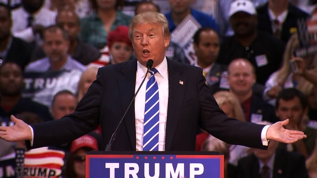 Watch: Donald Trump campaigns in Charlotte