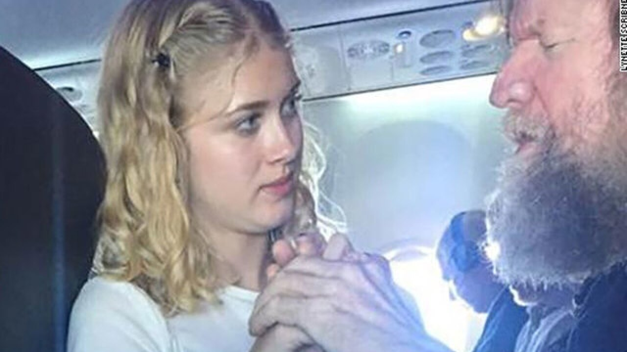 Clara Daly: Teenager uses sign language to communicate with blind and deaf man during flight