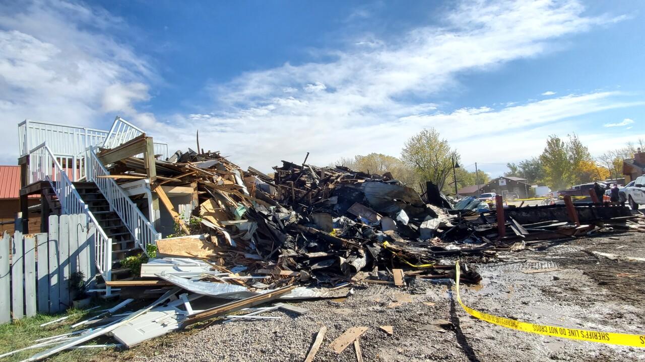 Bunkhouse Inn Fire