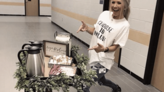Texas teacher's coffee cart idea is helping students with disabilities