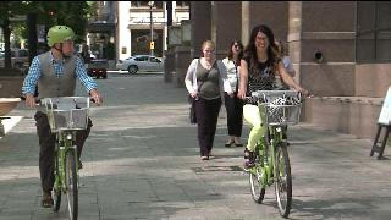 Greenbikes has first ever free day Tuesday