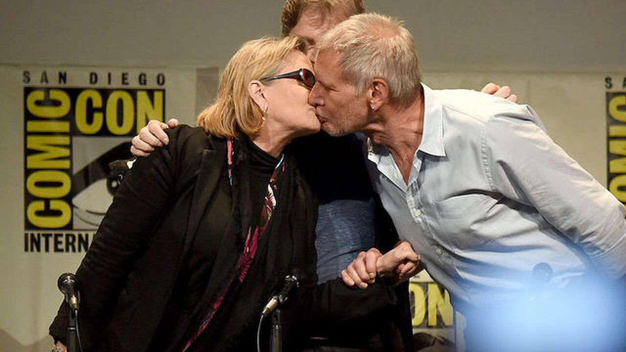 'Star Wars' Carrie Fisher confirms 'intense' affair with Harrison Ford