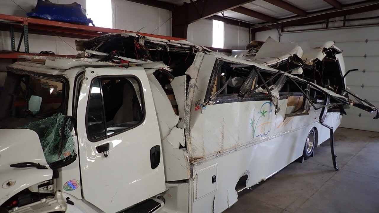 NTSB releases preliminary report on crash that killed 4 tourists in southern Utah