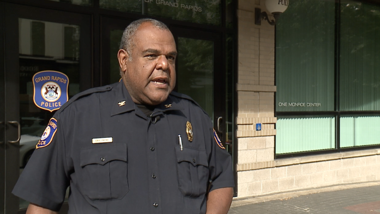 Grand Rapids Police Chief Eric Payne file photo