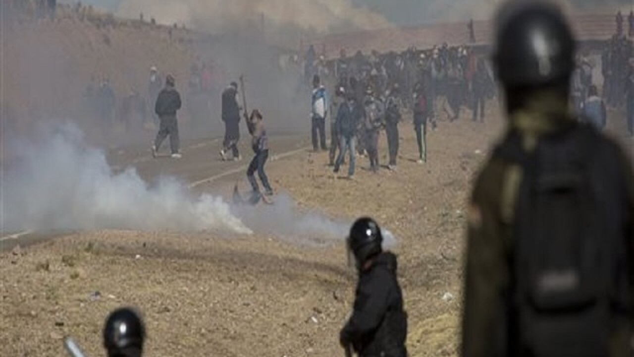 Striking miners kill deputy minister in Bolivia, officials say