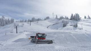 Bogus Basin snow