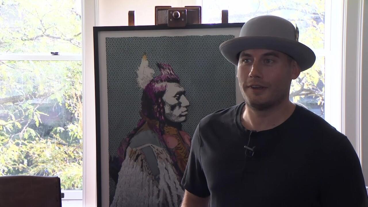 Billings artist Judd Thompson