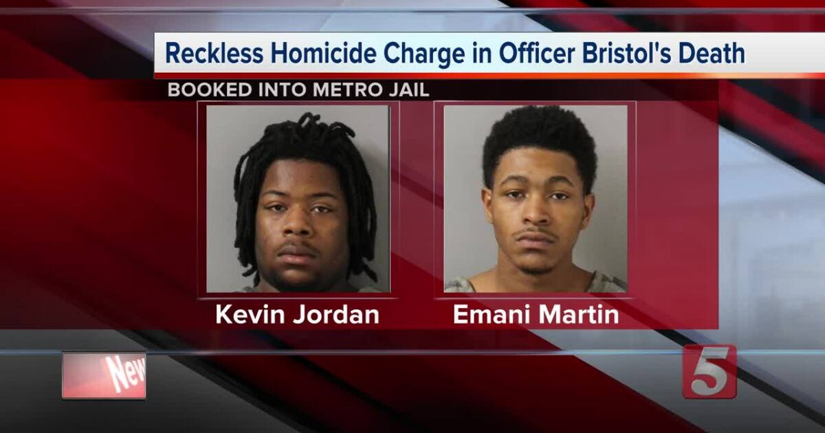 Men charged with reckless homicide in Hendersonville officer's death