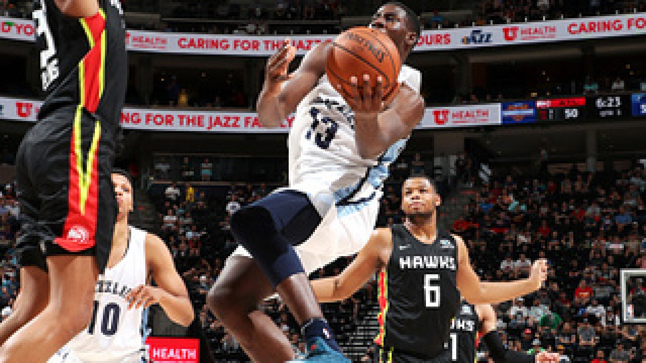 Jaren Jackson shines in NBA summer league debut