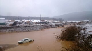 Siberian Dam Collapse