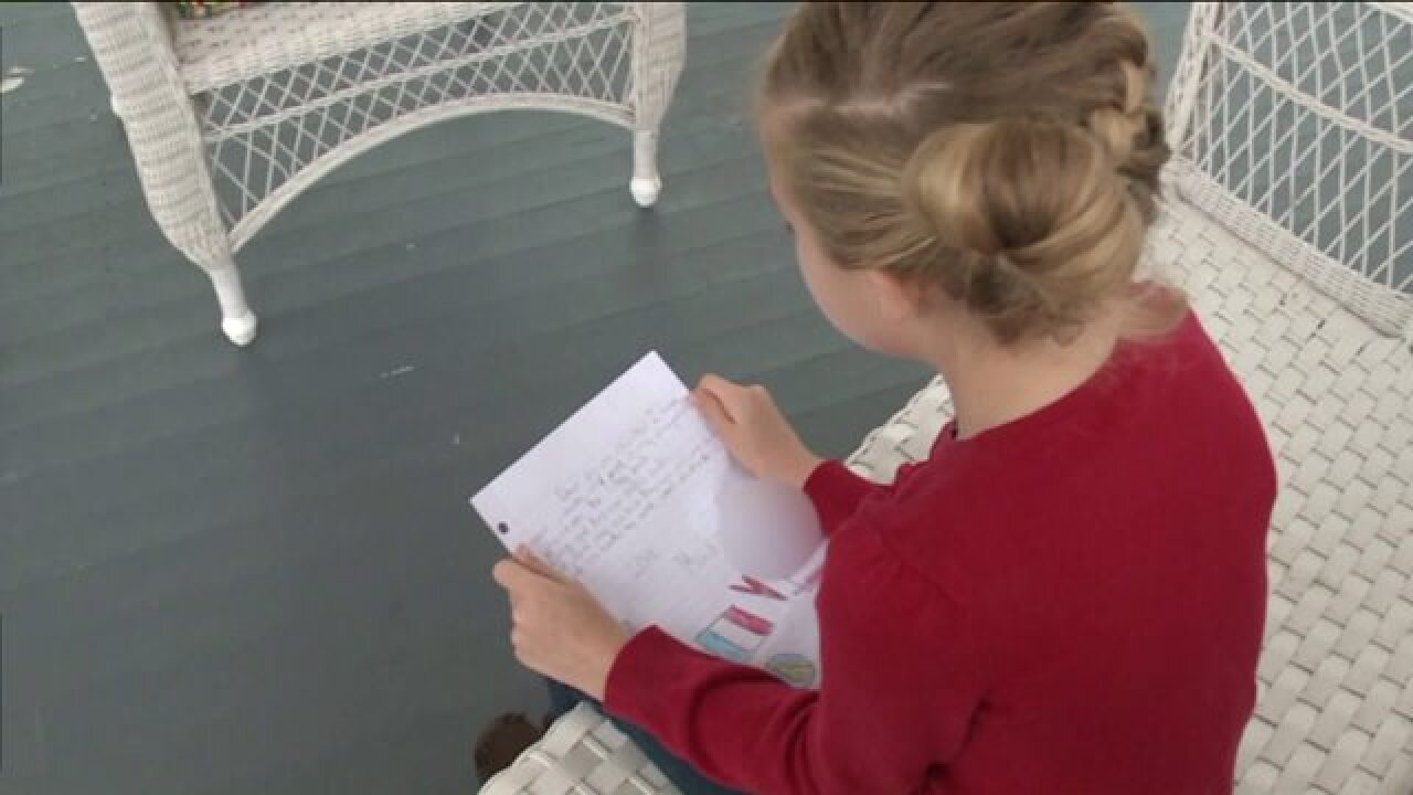 8-year-old daughter of former Soldier writes letter to French Prime Minister