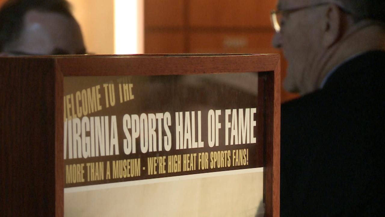 Hall overhaul: Update on new Virginia Sports Hall ofFame