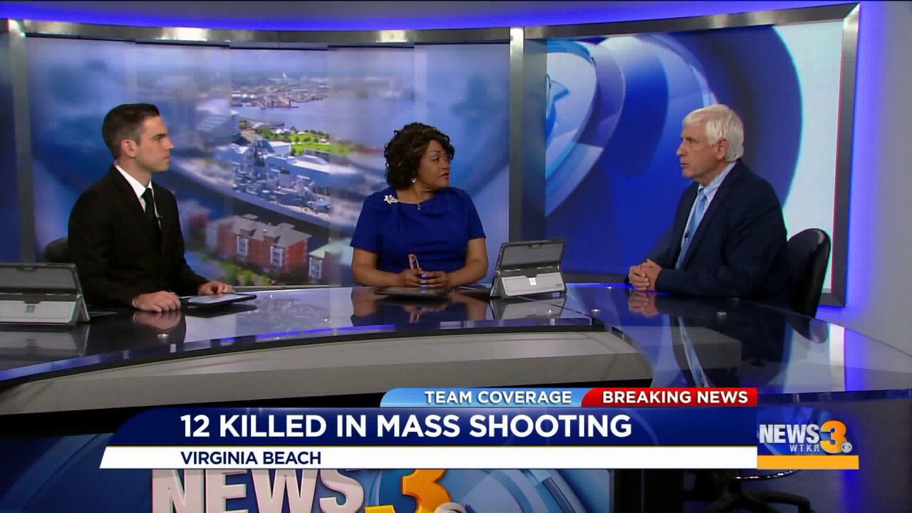 Virginia Beach Mayor: 'We are going to get through thistogether'