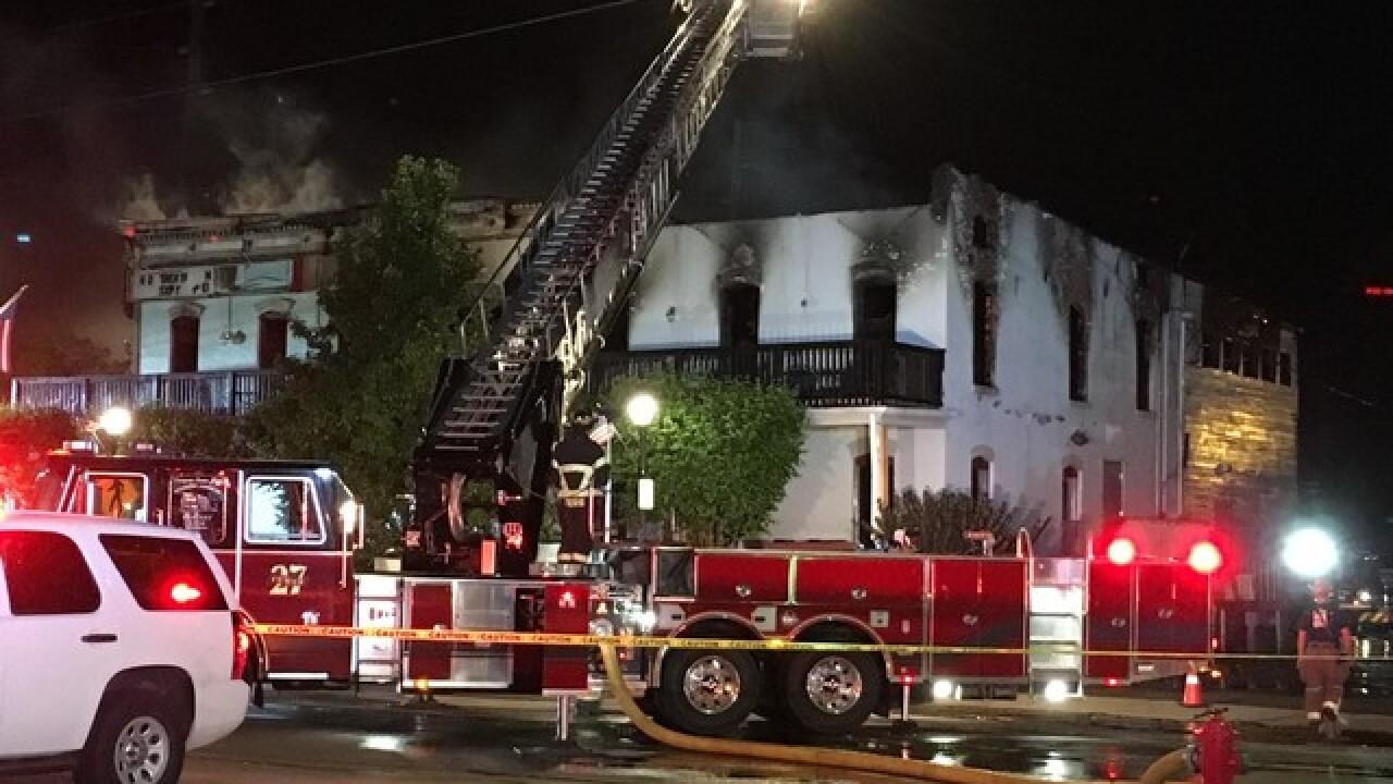 Crews battling fire at South Lyon restaurant