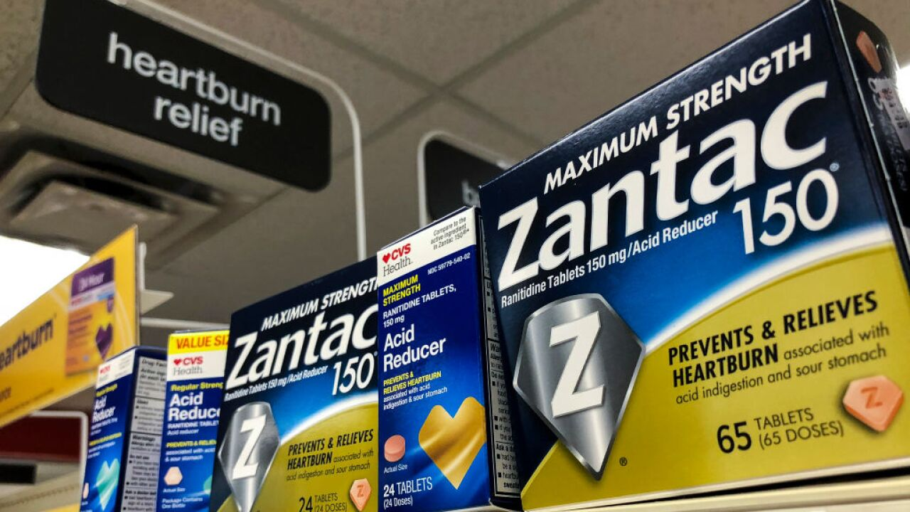 CVS pulls Zantac and similar heartburn drugs because of cancer worries