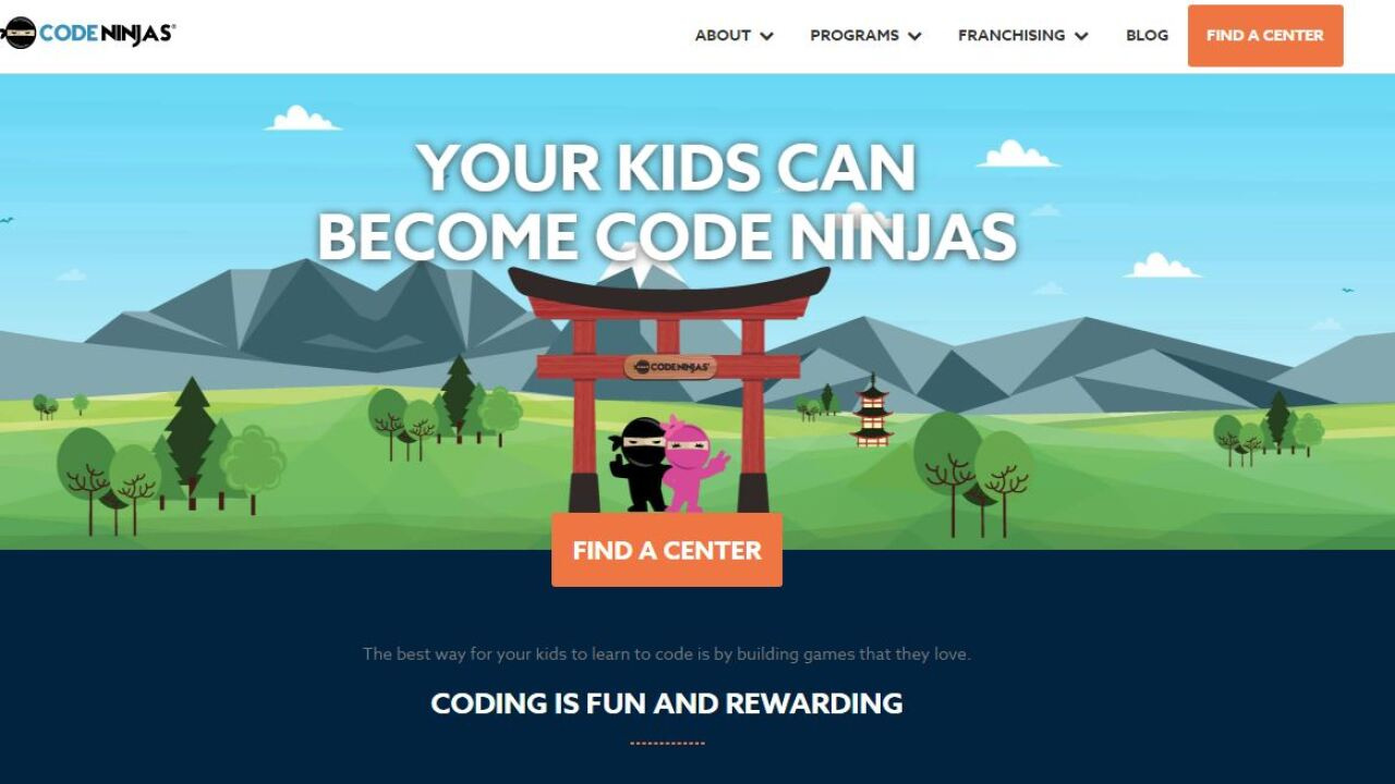 """New business in Virginia Beach teaches kids to be """"ninjas"""" in coding andprogramming"""