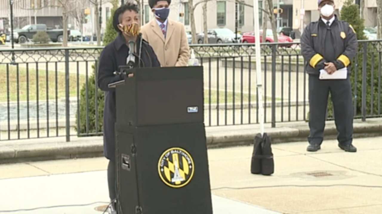 Baltimore City leaders provide update on COVID-19 , vaccine distribution