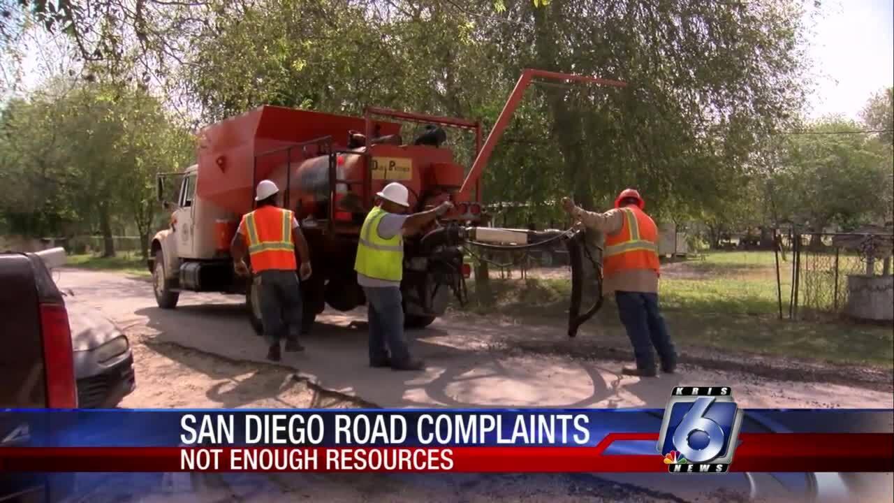 San Diego road complaints