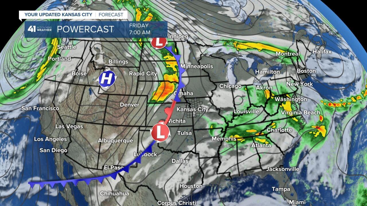 Surface Forecast Friday