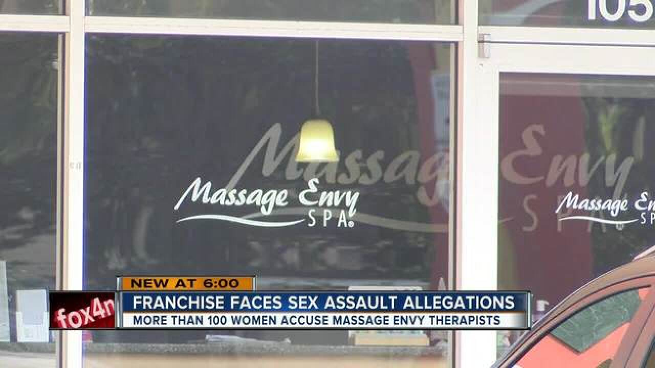 What happened inside Florida Massage Envys