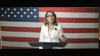 Gabrielle Giffords among those who push for gun control at DNC