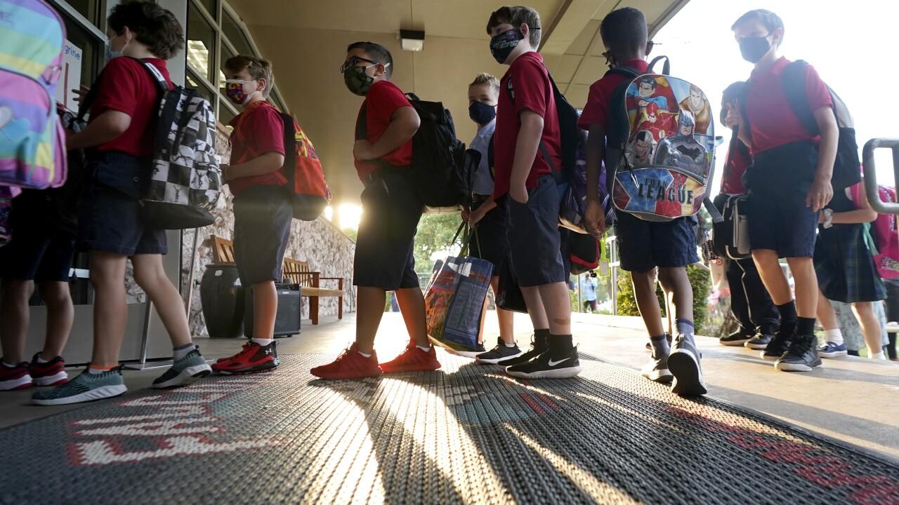 APTOPIX Virus Outbreak Texas Schools