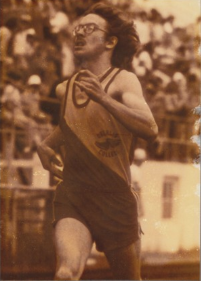 Todd Portune ran track at Oberlin College. Photo provided by Oberlin.