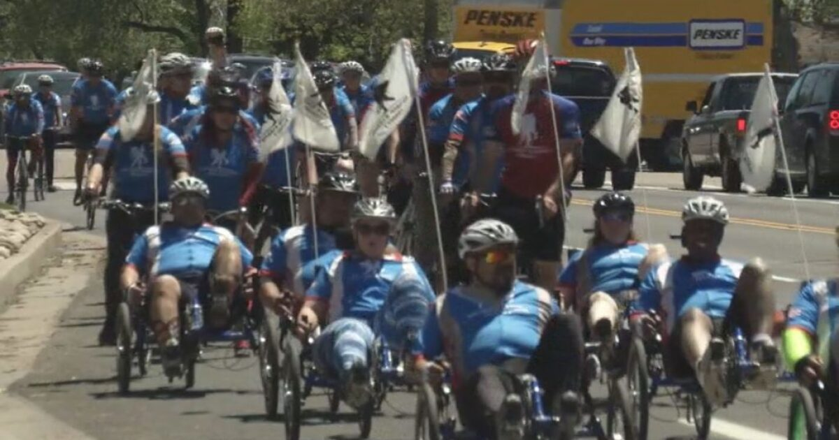Soldier Ride: Wounded Warriors cycle Colorado Springs