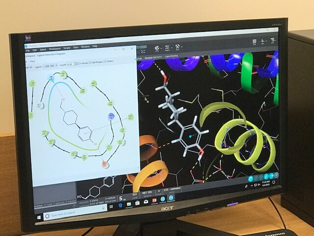 Concordia's lab, lead by Dan Sem