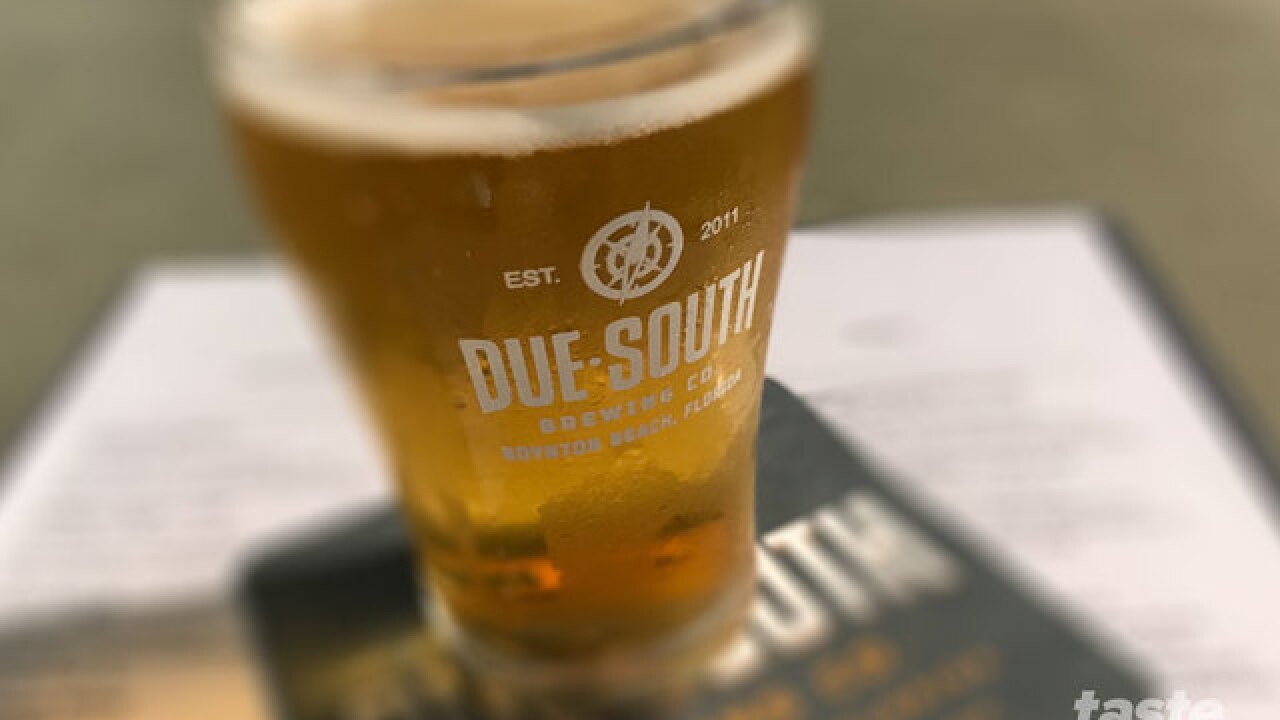 Local craft beer of the week is The Blonde Ale from Due South Brewery in Boynton Beach
