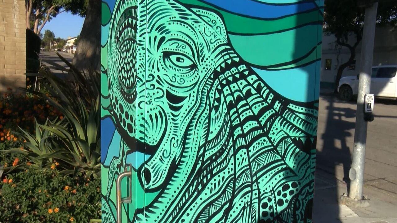 GROVER BEACH UTILITY BOX ART