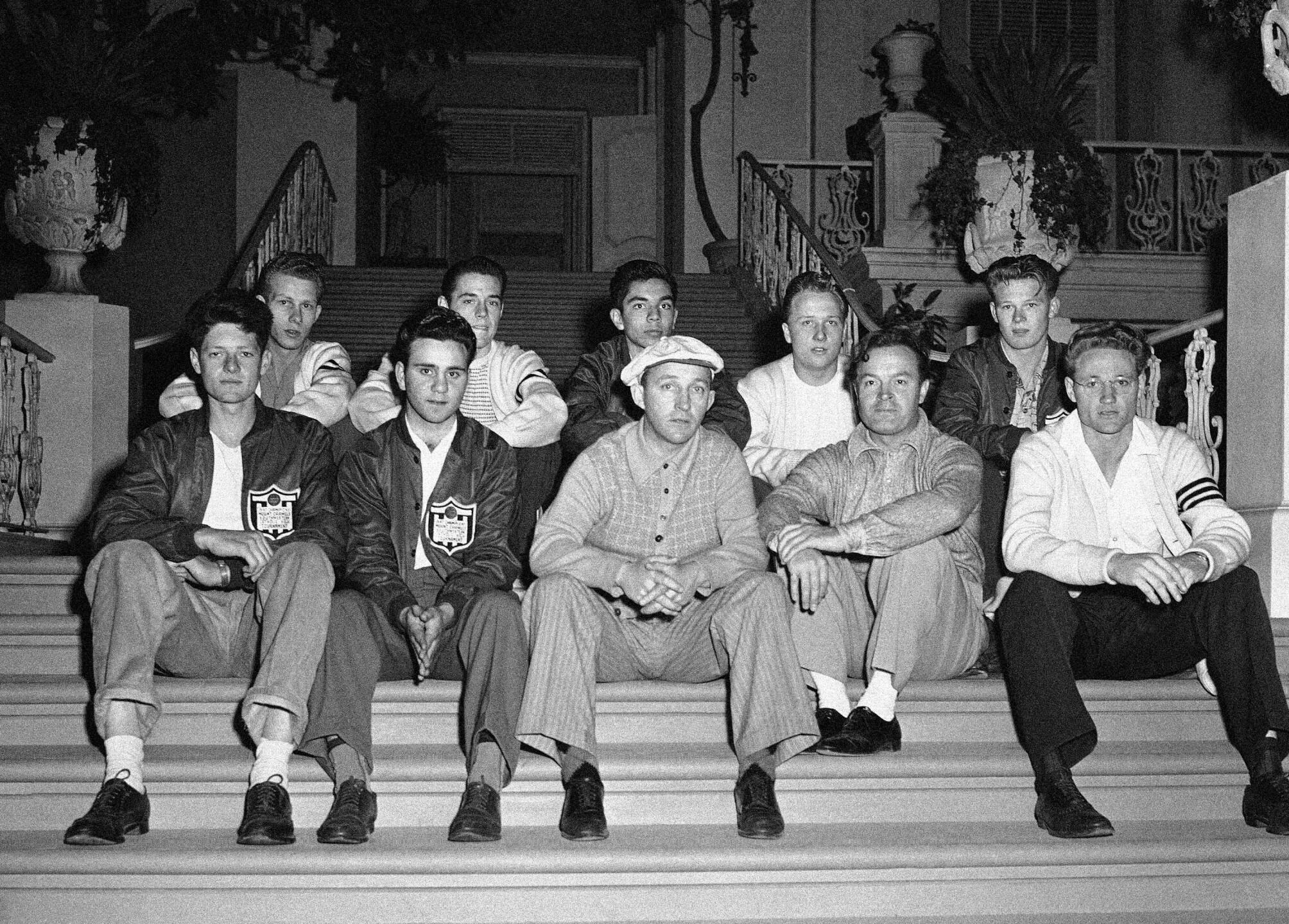 Bob Hope, Bing Crosby