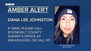AMBER Alert for 15-year old Dana Lee Johnston