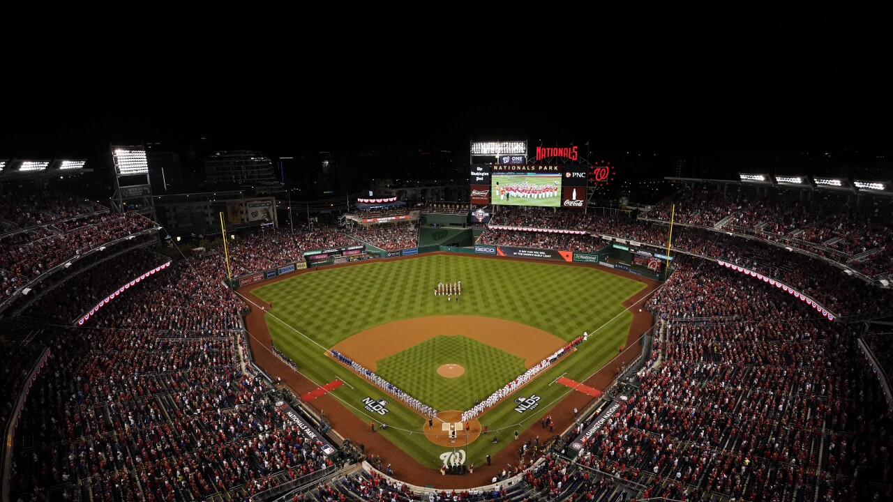 A political affair: Lawmakers gearing up for World Series games in D.C. at Nationals Park