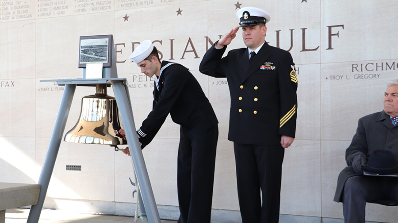 Pearl Harbor Remembrance Day Ceremony honors Virginians killed in attack