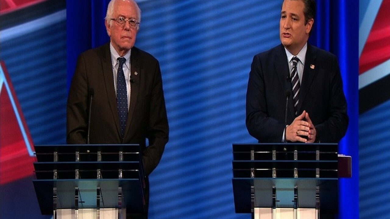 Cruz, Sanders face off on Obamacare during town hall