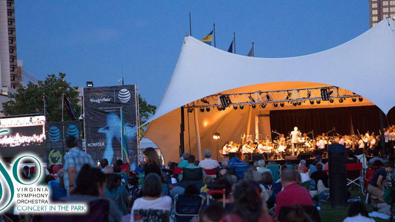 Norfolk to hold 2nd annual Symphony in the Park at Nauticus