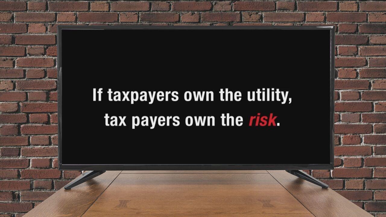 Last ad claim: Taxpayer risk