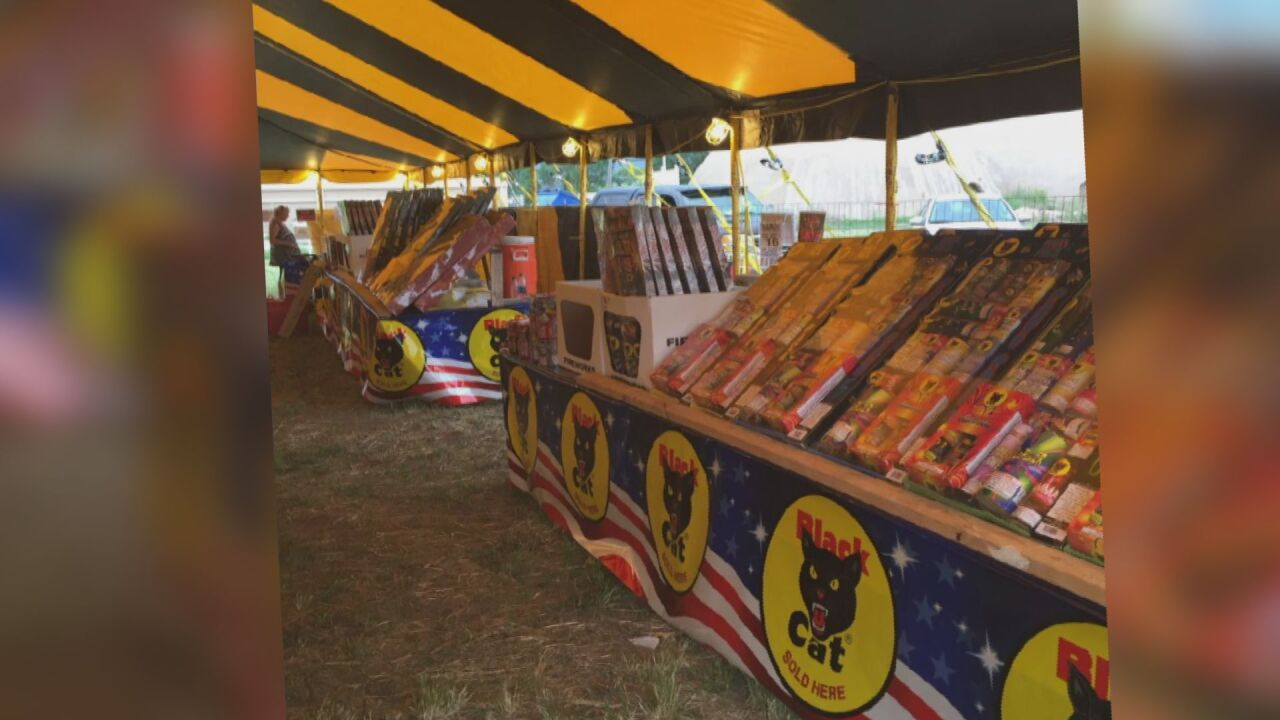 With El Paso County fireworks ban dropped, local retailers are scrambling to get up and running before July 4
