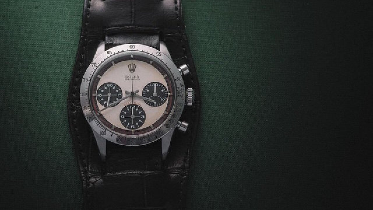 Paul Newman's Rolex auctioned for $17.8M