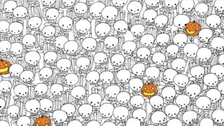 Find The Ghost Among The Skeletons In Halloween Brainteaser