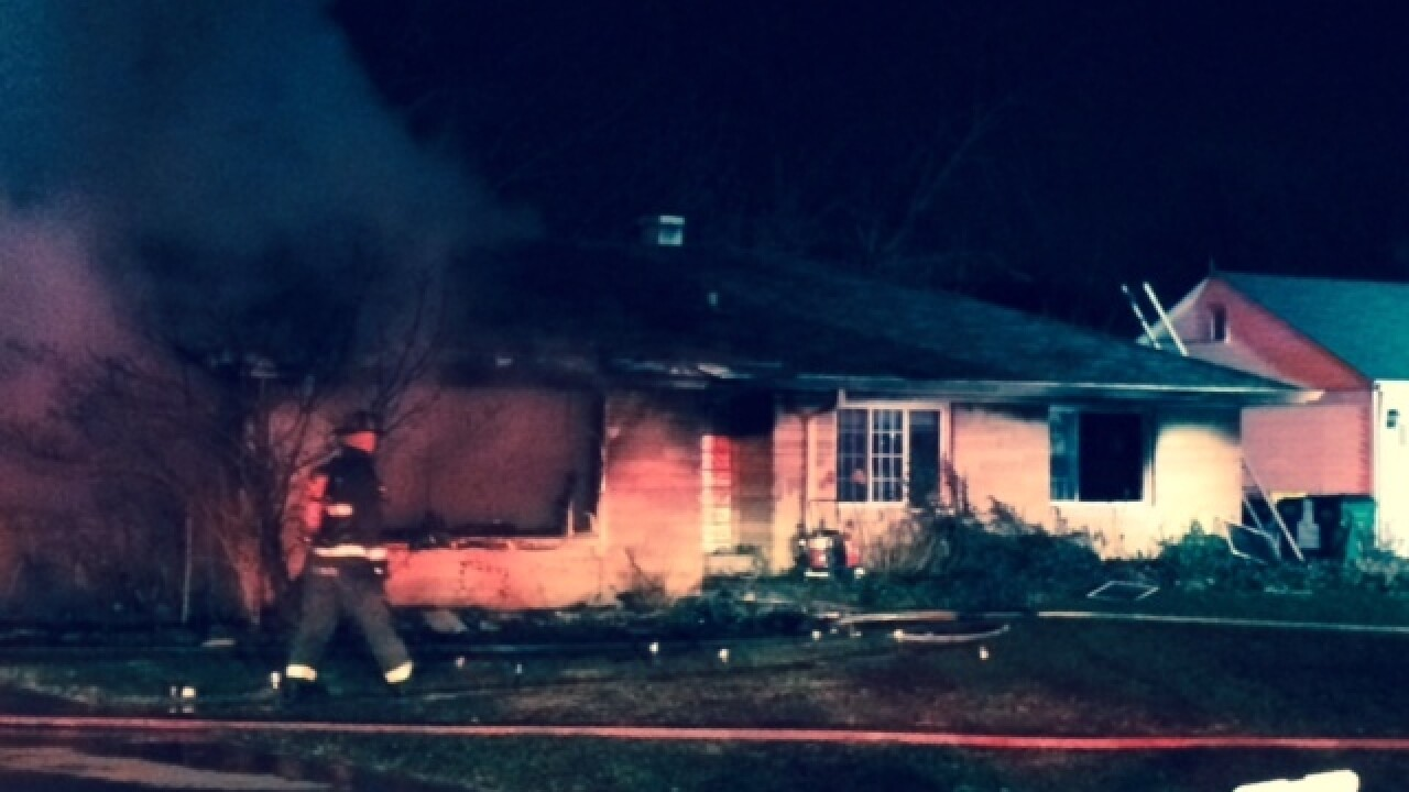 Woman pulled from Speedway fire