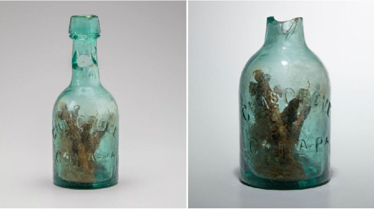 Witch Bottle discovered under Interstate 64 in Virginia