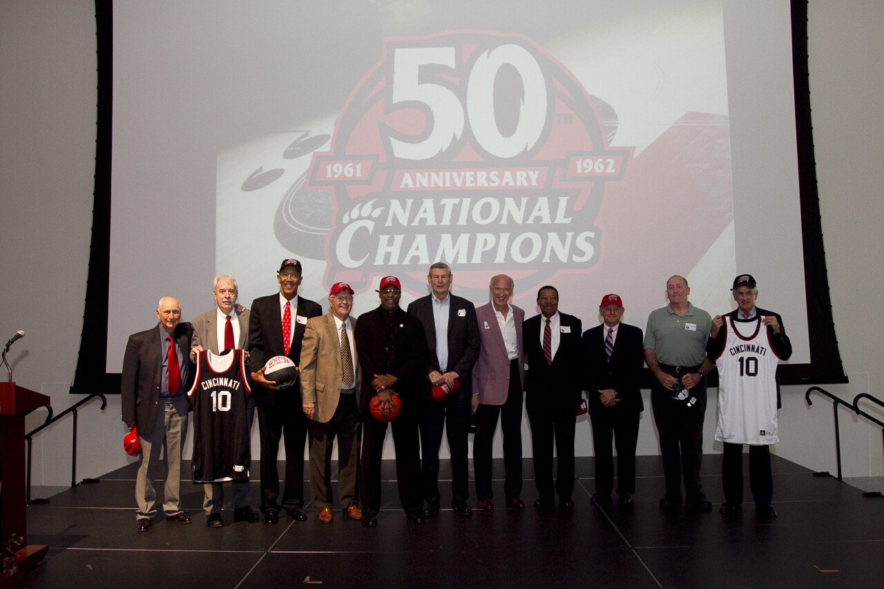 50th anniversary of UC Bearcats national basketball title
