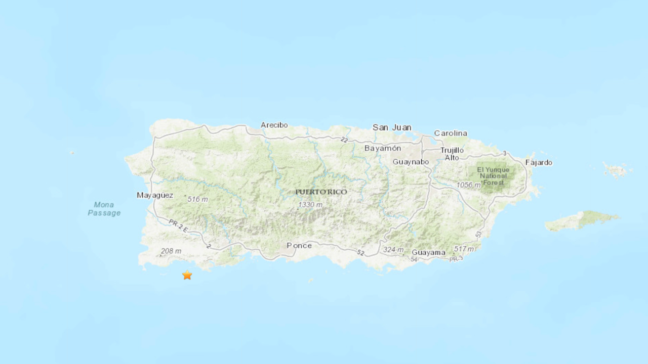 5.2 magnitude earthquake strikes Puerto Rico, USGS says