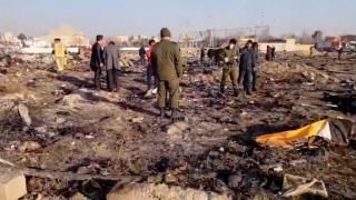 Ukrainian airplace crash in Iran