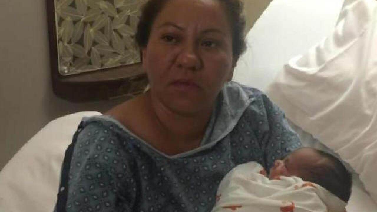 Man detained while driving pregnant wife to hospital has an arrest warrant in Mexico, ICE says