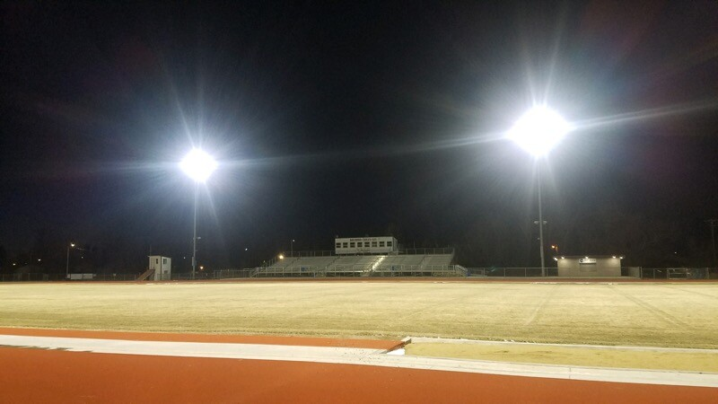 Sidney High School football field