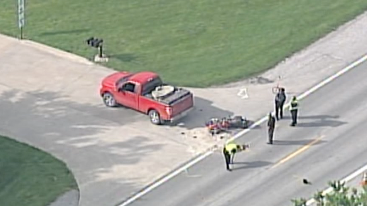 Harrisonville motorcycle crash